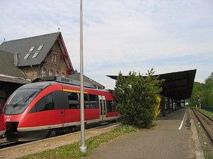 Oberbergische Bahn - Overath station