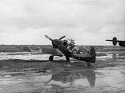 Bf 109F SAAF KJ-? on ramp