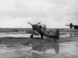 Martuba Airbase - Image: Bf 109F SAAF KJ ? on ramp