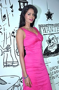 Bhairavi Goswami at the Audio release of 'Mr. Bhatti On Chutti' (3).jpg
