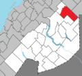Biencourt Quebec location diagram.png
