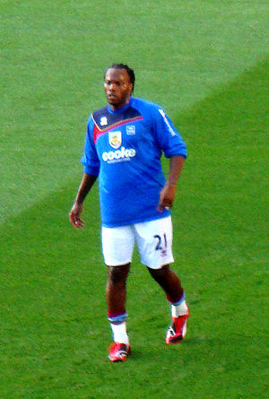 André Bikey - Bikey on his Burnley debut in August 2009.