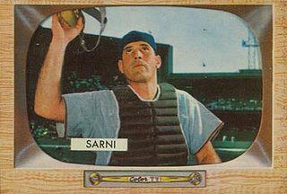 Bill Sarni American baseball player and coach