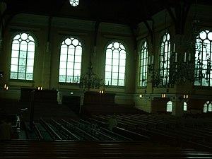Nieuwe Kerk (Katwijk aan Zee) - Image: Binnenkant van de Nieuwe Kerk