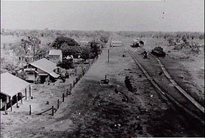Birdum, Northern Territory - Railway station at Birdum, circa 1940