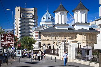 University Square, Bucharest - The InterContinental, Colțea Hospital and Three Hierarchs Church