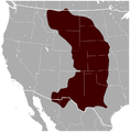Black-tailed Prairie Dog Cynomys ludovicianus distribution map.png