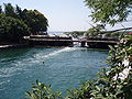 Black Drin Lake Ohrid. Bridge of the Poets 1.JPG