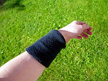 Black wrist sweatband on hand.jpg