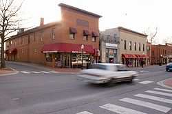 Downtown Blacksburg