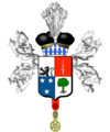 Blason de Guillaume-Michel Cerise, baron Cerise et de l'Empire.png