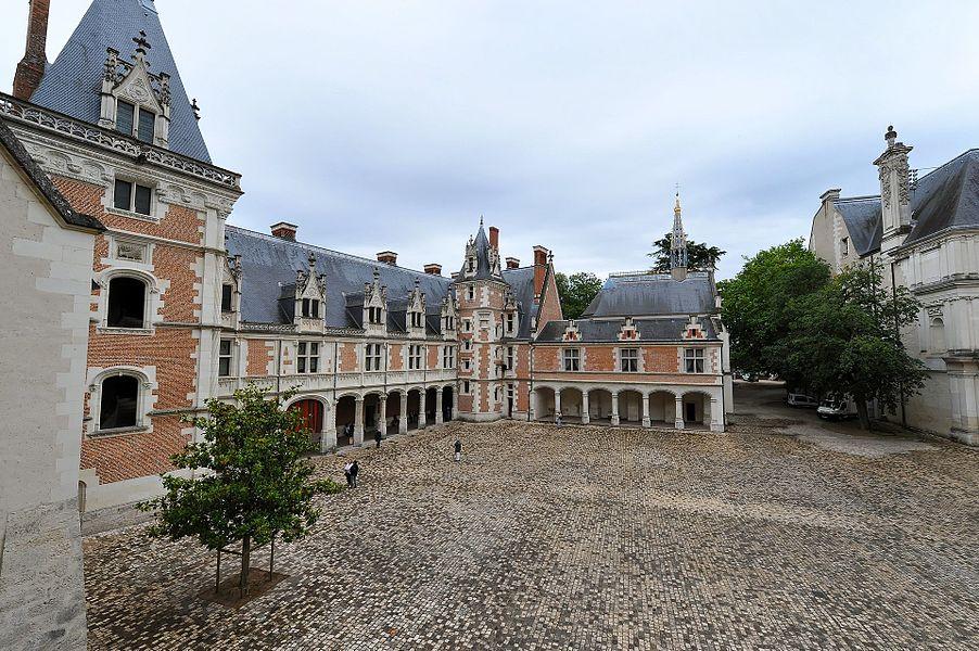 Schloss Blois - Flügel Ludwigs XII. und die Galerie Karls VIII.