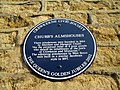 Blue Plaque - Chubb's Almshouses - geograph.org.uk - 1139099.jpg