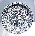 Blue and white plate Jingdezhen 1271 1368.jpg
