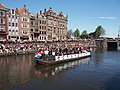 Boat 12 Leger, Marine, Landmacht boot, Canal Parade Amsterdam 2017 foto 2.JPG
