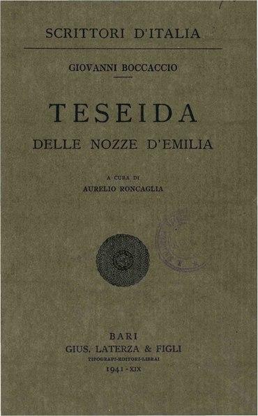 File:Boccaccio, Giovanni – Teseida, 1941 – BEIC 1768580.pdf