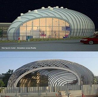 Eilat Sports Center - Image: Bodek Architects Eilat Sports Center 109