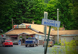 Bodines is a village in the township