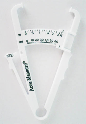 Body fat percentage - Body Fat Caliper