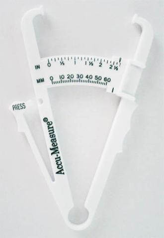Body fat percentage - Body Fat Caliper
