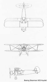 Line drawings for the N2S/PT-13.