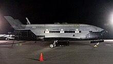 वन्डेनबर्ग वायुसैनिक अड्डे पर एक्स ३७