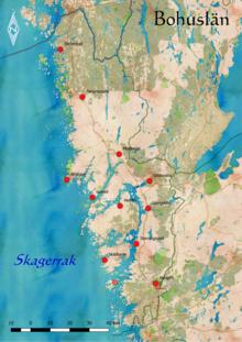 Schweden Karte Pdf.Bohuslan Wikipedia