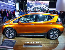 Chevrolet Bolt Ev Concept At The 2017 North American International Auto Show