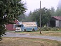 Bookmobile and barn, near Lake Quinault (340510831).jpg