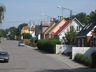 Village in Capital (Hovedstaden), Denmark