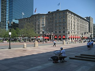 The Fairmont Copley Plaza Hotel - The Fairmont Copley Plaza and Copley Square, 2007