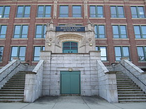 Boston Latin Academy - Boston Latin Academy at its present location