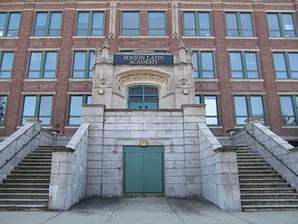 Boston Latin Academy - Boston Latin Academy at its present location