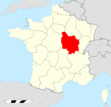 Bourgogne region locator map.svg