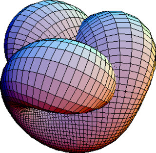 Manifold topological space that at each point resembles Euclidean space