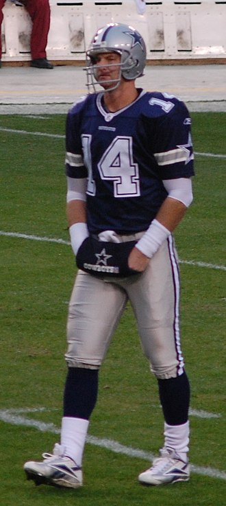 Brad Johnson (American football) - Brad Johnson finished his NFL career with the Dallas Cowboys.