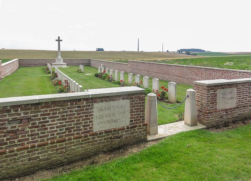 Brancourt-le-Grand Military Cemetery