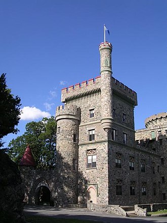 Brandeis University - Usen Castle, a building on campus