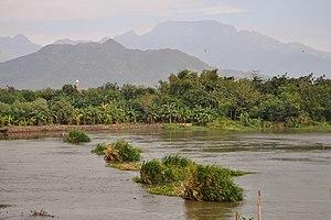 Kediri, East Java - Image: Brantas 140722 44832 kdi