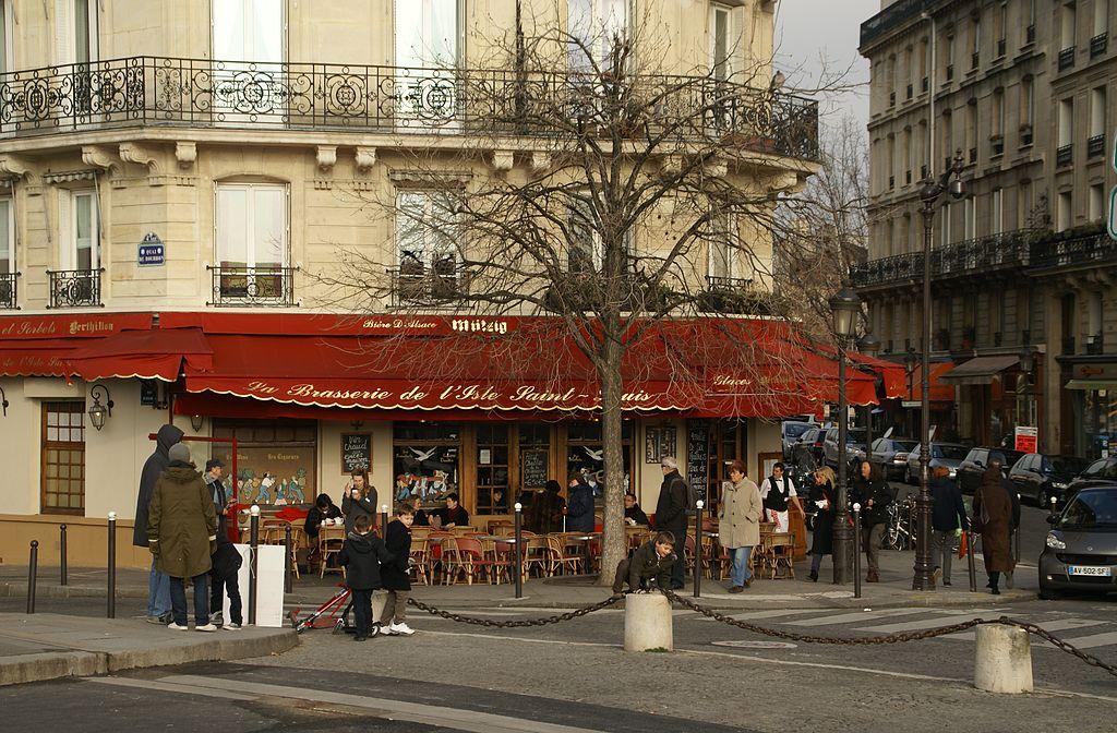 File:Brasserie de l'Isle Saint-Louis, 55 Quai de Bourbon, 75004 ...