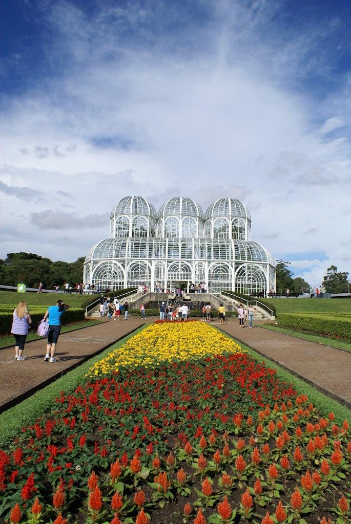 Brazil, parana, curitiba, botanical garden