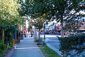 Breckenridge, Colorado - Main Street in Breckenridge