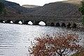 Bridge at the end of Caban Coch reservoir - geograph.org.uk - 1596366.jpg