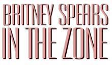 Description de l'image Britney Spears - In the Zone Logo.png.