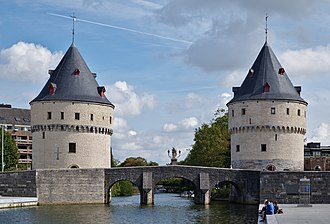 Broeltowers - Broel Towers and the Lys river