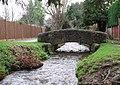 Brook and Footbridge, The Parks, Minehead - geograph.org.uk - 304274.jpg