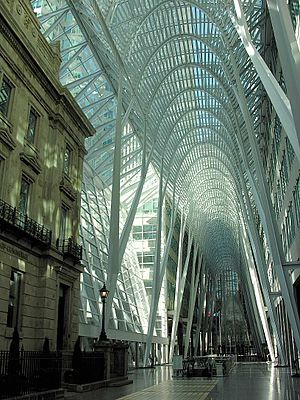 TekWar (TV series) - Brookfield Place in Toronto, Ontario, Canada was used for exterior shots of the Cosmos offices