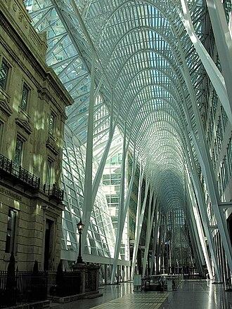 Brookfield Place (Toronto) - Allen Lambert Galleria, designed by Santiago Calatrava