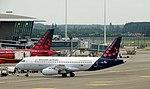 Brussels Brussels Airlines Sukhoi Superjet 100-95B EI-FWD.jpg