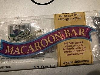 Macaroon - Buchanan's Macaroon Bar